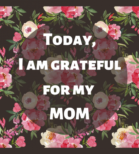 Today I am Grateful For…